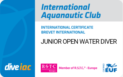 Junior Open Water Diver Brevet